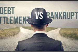 Bankruptcy Versus Debt Settlement