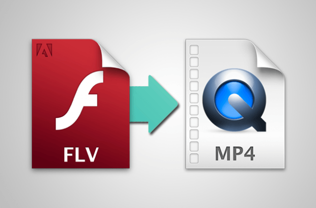 FLV to MP4 using converters