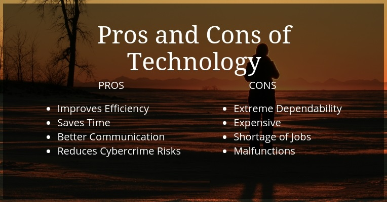 5 Pros And Cons Of Technological Advancements For Businesses And People