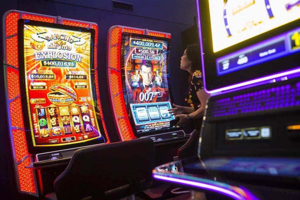 Technology Applied To Slot Machines