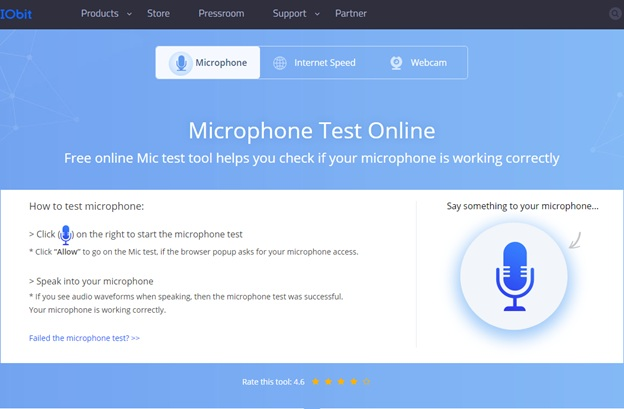 Online Mic Tester Webcam Tester Test Your Mic And Webcam Online Techicy