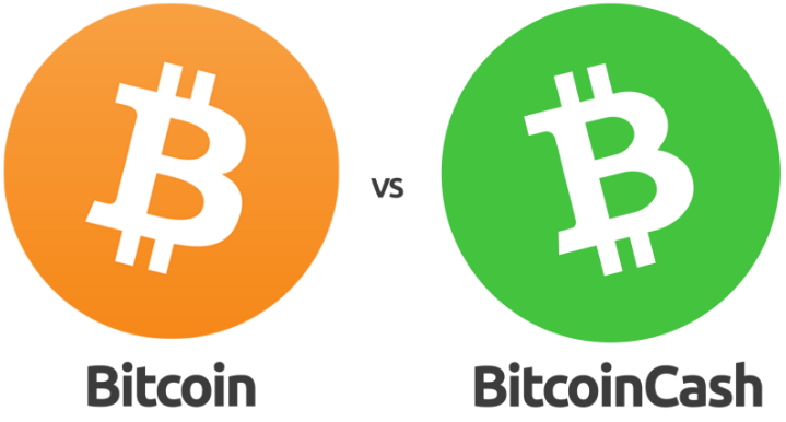 Comparison Between Bitcoin Cash And Bitcoin