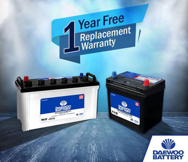Daewoo-battery