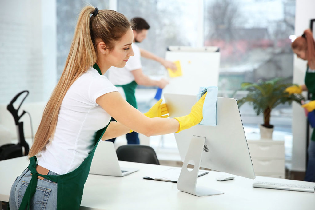 Difference in House and Office Cleaning
