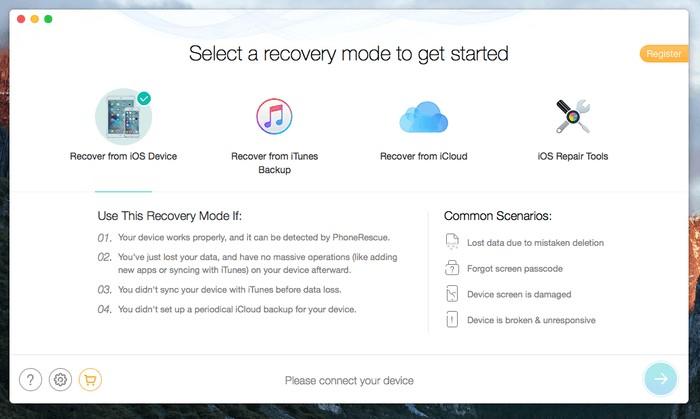 PhoneRescue for iOS4