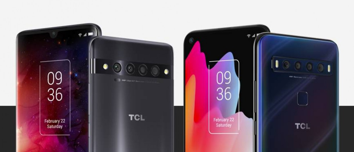 TCL 10 L Mobile With Four Cameras And Snapdragon Processor