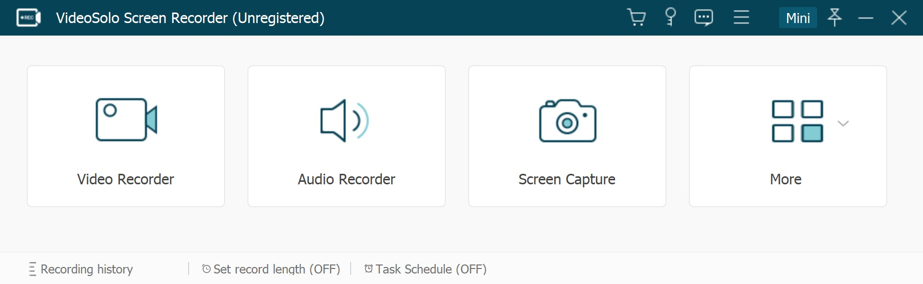What Does VideoSolo Screen Recorder Offer