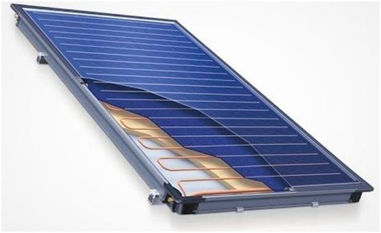 Flat solar collectors