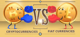 Cryptocurrency vs. Fiat Money