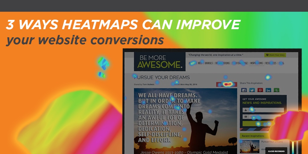 Heat Maps & How They Can Help Improve Your Website