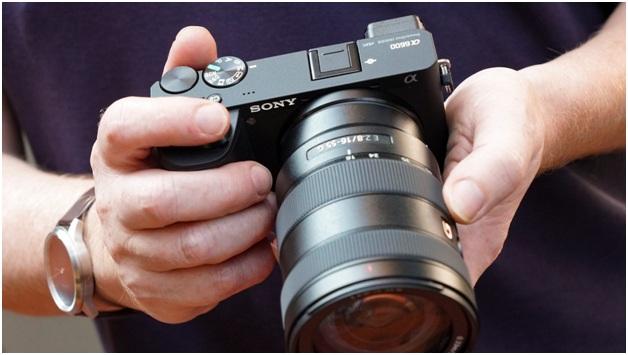 Song alpha a6600 mirrorless camera