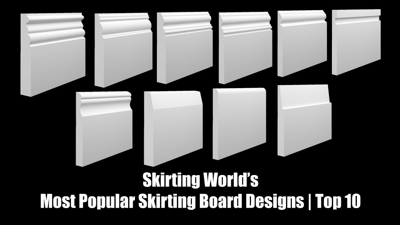 Types of Skirting Boards