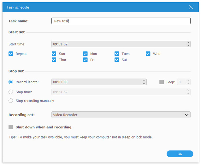 task-schedule-settings