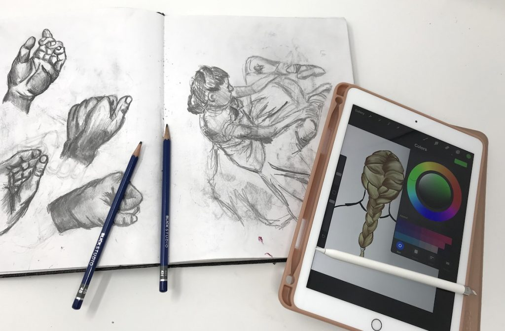 Digital Drawing is Different from Traditional Art