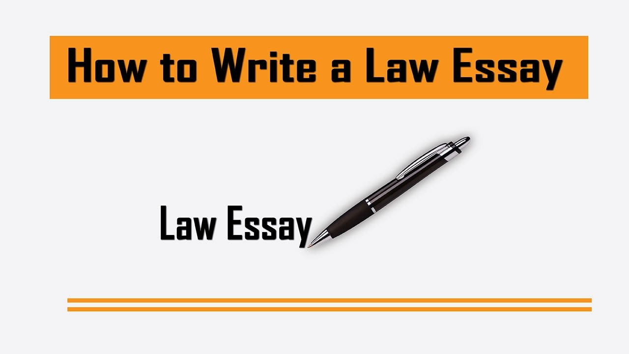 Manage Writing Your Law Essay
