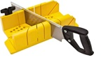 Miter Box- Some sets come with a Saw
