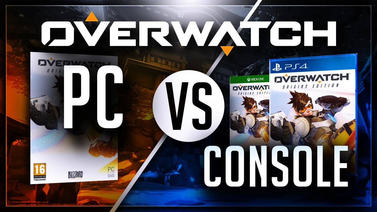 Overwatch – PC vs. Console