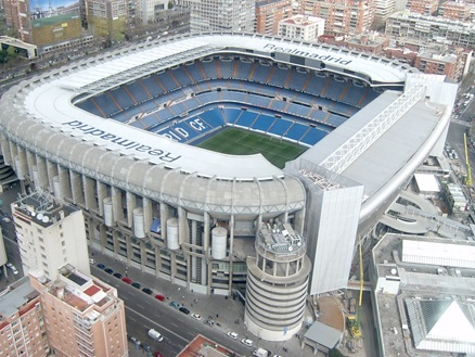 Santiago Bernabéu (Madrid, Spain)