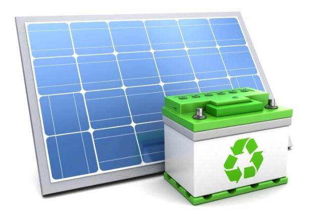 Solar Energy Batterie