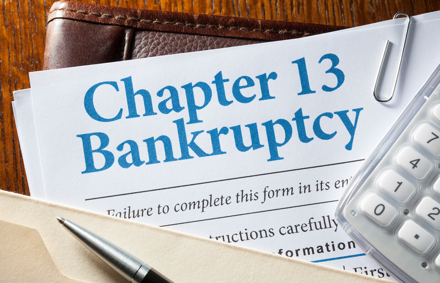 Debts In Chapter 13 Bankruptcy