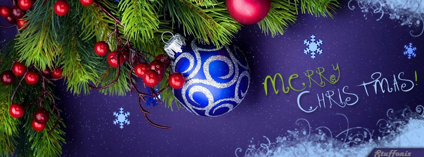 Merry Christmas FB Cover Photos - Download 5