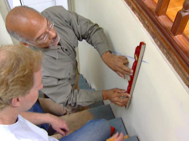 Installing A Wood Handrail On A Wall Step By Step