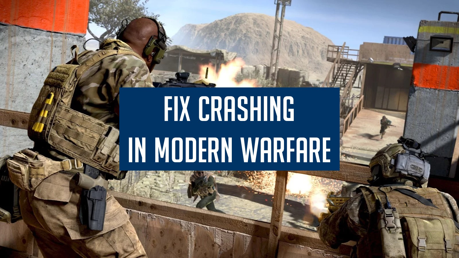 Resolve Modern Warfare Crashing On PC
