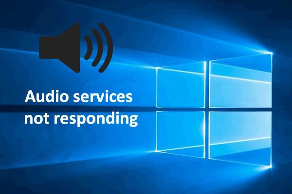 Steps To Alleviate Audio Service Not Running Error
