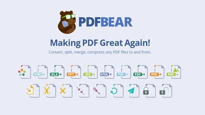 PDFBear Tools