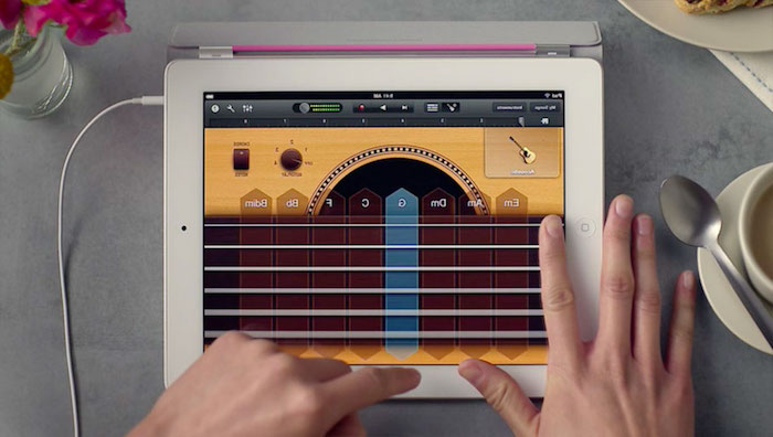 Recording Guitar in GarageBand for iPad