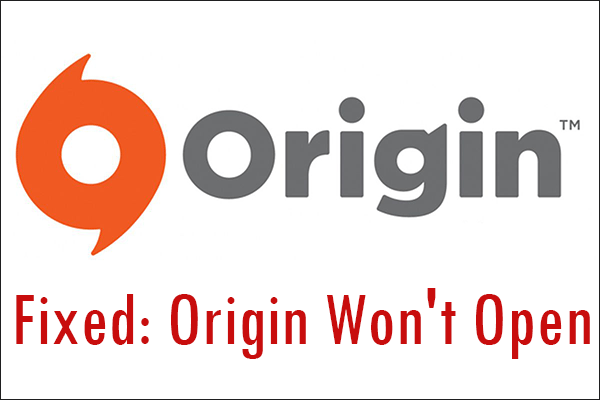 Solution For Origin Won't Open Issue
