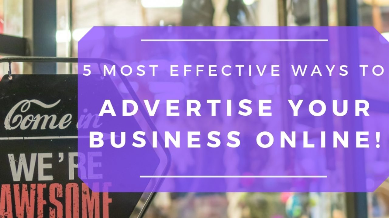 Ways to Advertise Online
