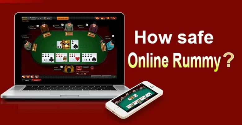 playing Rummy online Safe and Secure