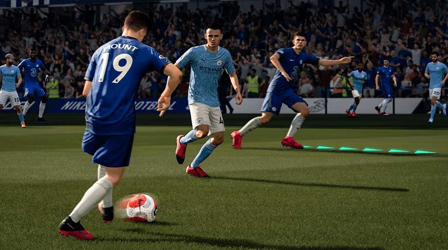 Creating Space for FIFA 21 game