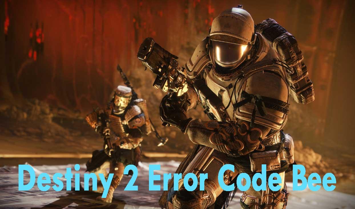 Error Code Bee On Destiny Games