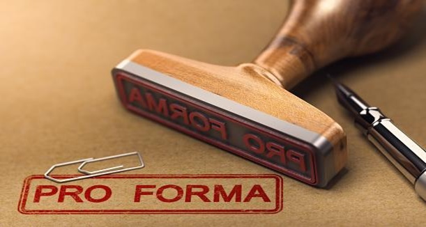Format of a Proforma Invoice