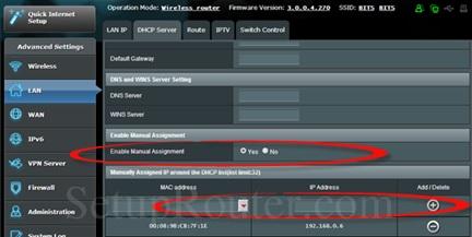 New MAC address and IP address