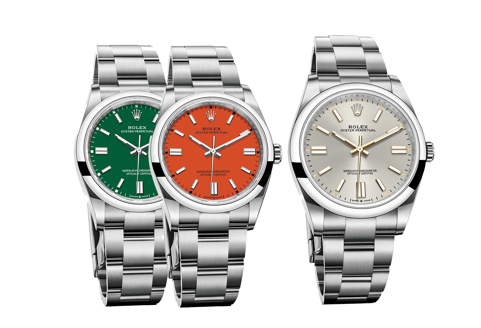 New Rolex Oyster Perpetual 41