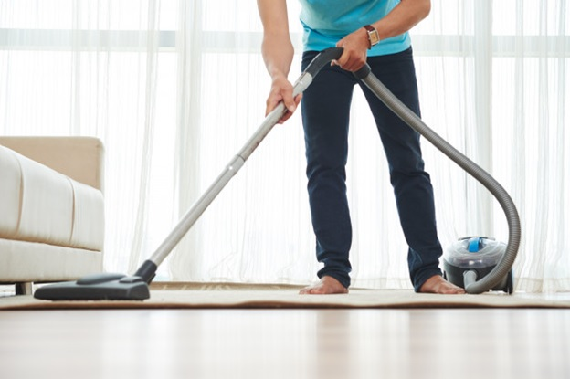 Vacuum Your Place Once Or Twice A Week