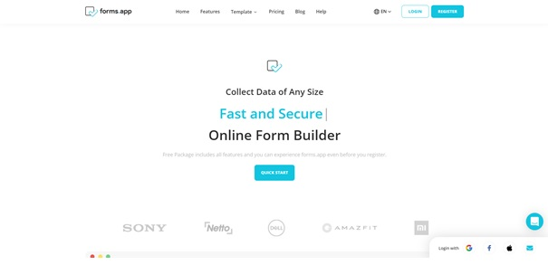 What is forms.app