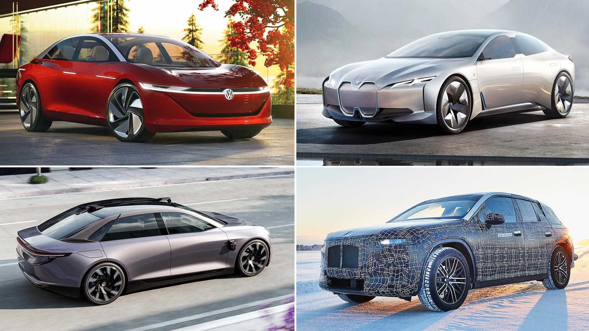 5 Electric Cars to Be Released In 2021