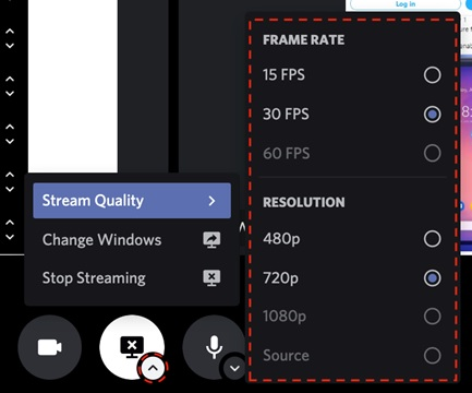 Features that come with screen sharing