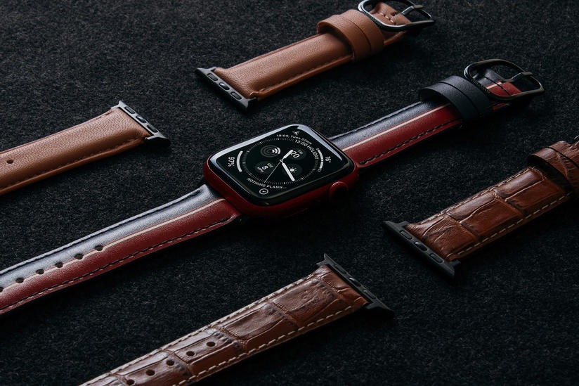 New Leather Apple Watch Band 3