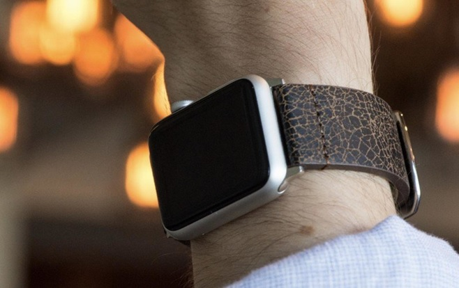 New Leather Apple Watch Band