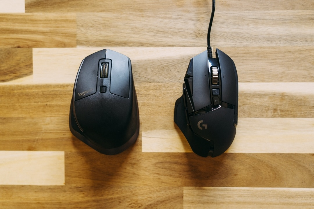 Overlook your gaming mouse