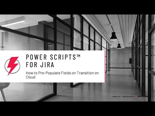 Power Scripts for JIRA