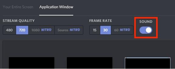 Screen sharing Audio problem