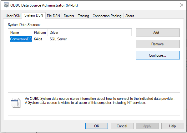 configure data source-16