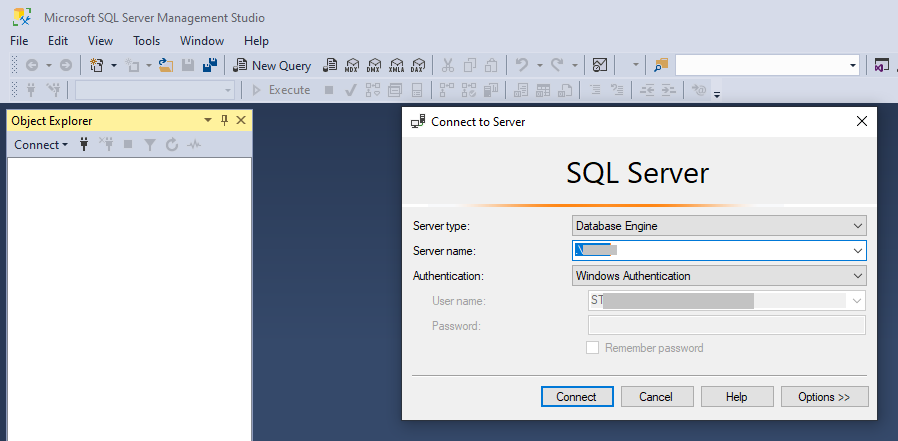 connect to sql server-1