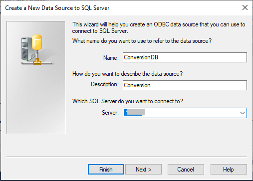 enter details to create new data source-11